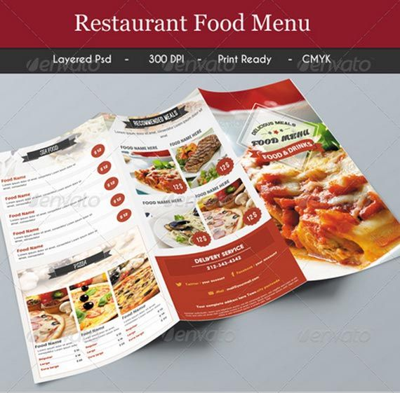Best Various Hotel  Restaurent Menu Designs  Multy Shades