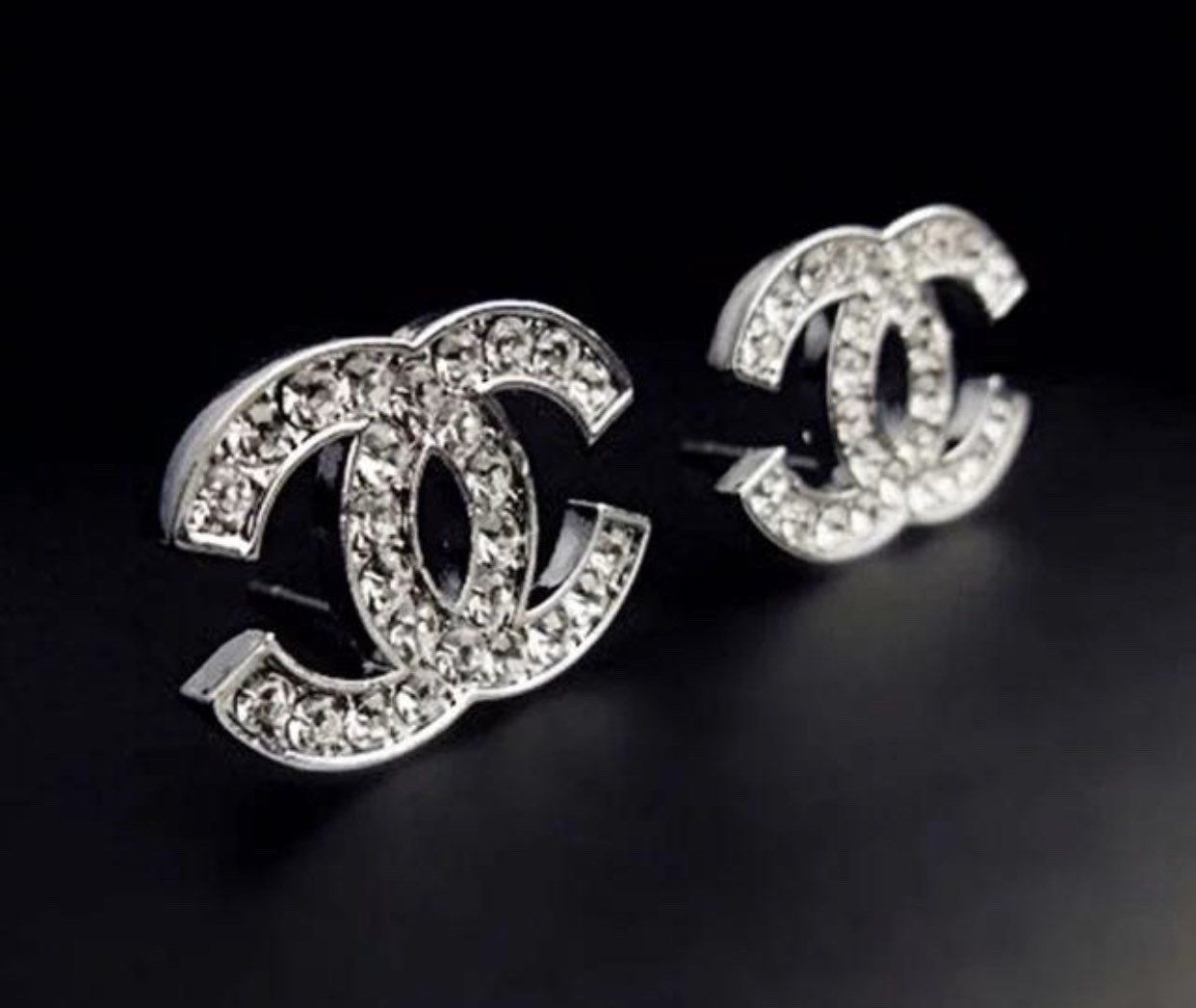 20++ Chanel letter earrings gold ideas