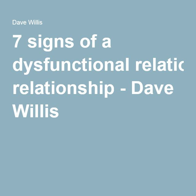 Dysfunctional marriage signs