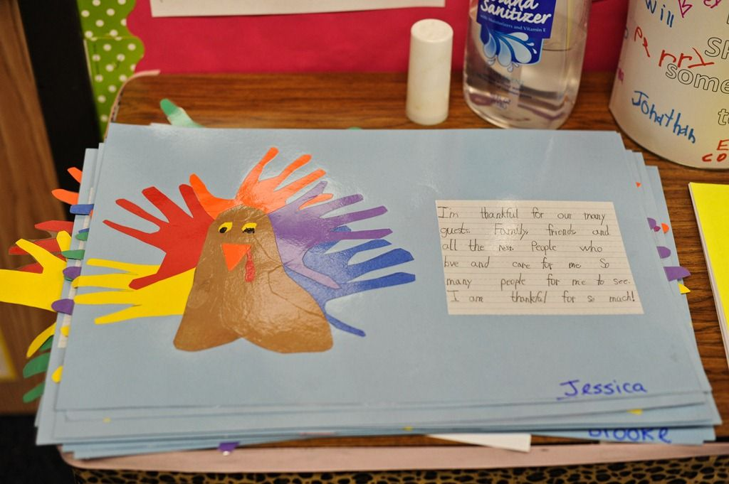 Turkey Placemats With I M Thankful For Writing Thanksgiving Placemats Preschool Thanksgiving School Thanksgiving Classroom