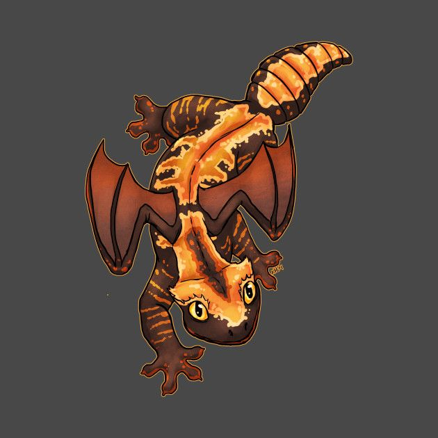 Check out this awesome 'Fire+Dragon+Gecko' design on @TeePublic!
