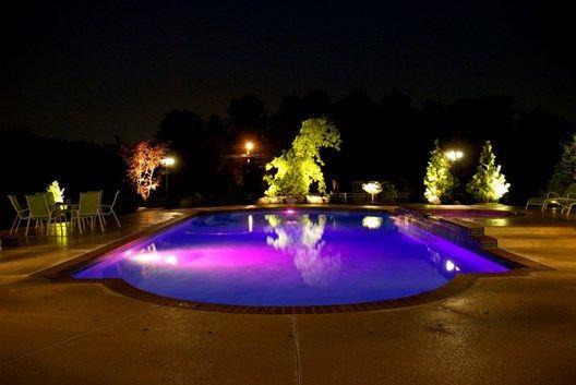 swimming pool lighting ideas pool