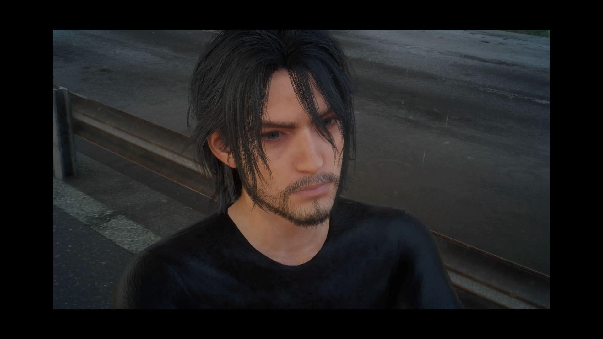 Old Noctis Portrait, Final Fantasy XV