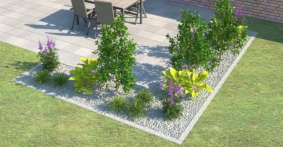 Terrassenabgrenzung Mit Pflanzen An Wohndesign Cosi