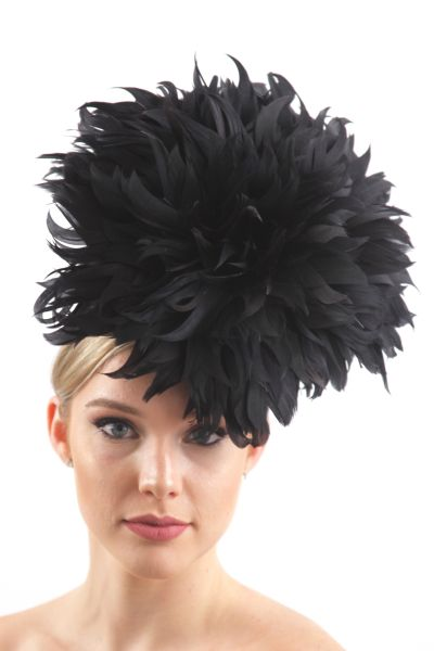 FEATHER FLOWER HATS  95516be8b964