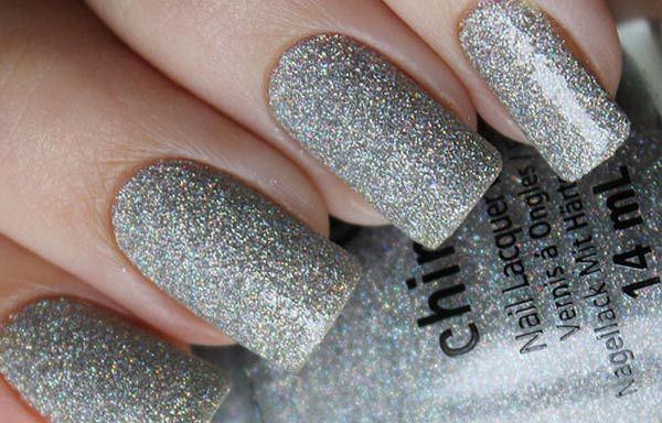 Uñas Decoradas Color Gris Perla Uñas Decoradas Pinterest Nails