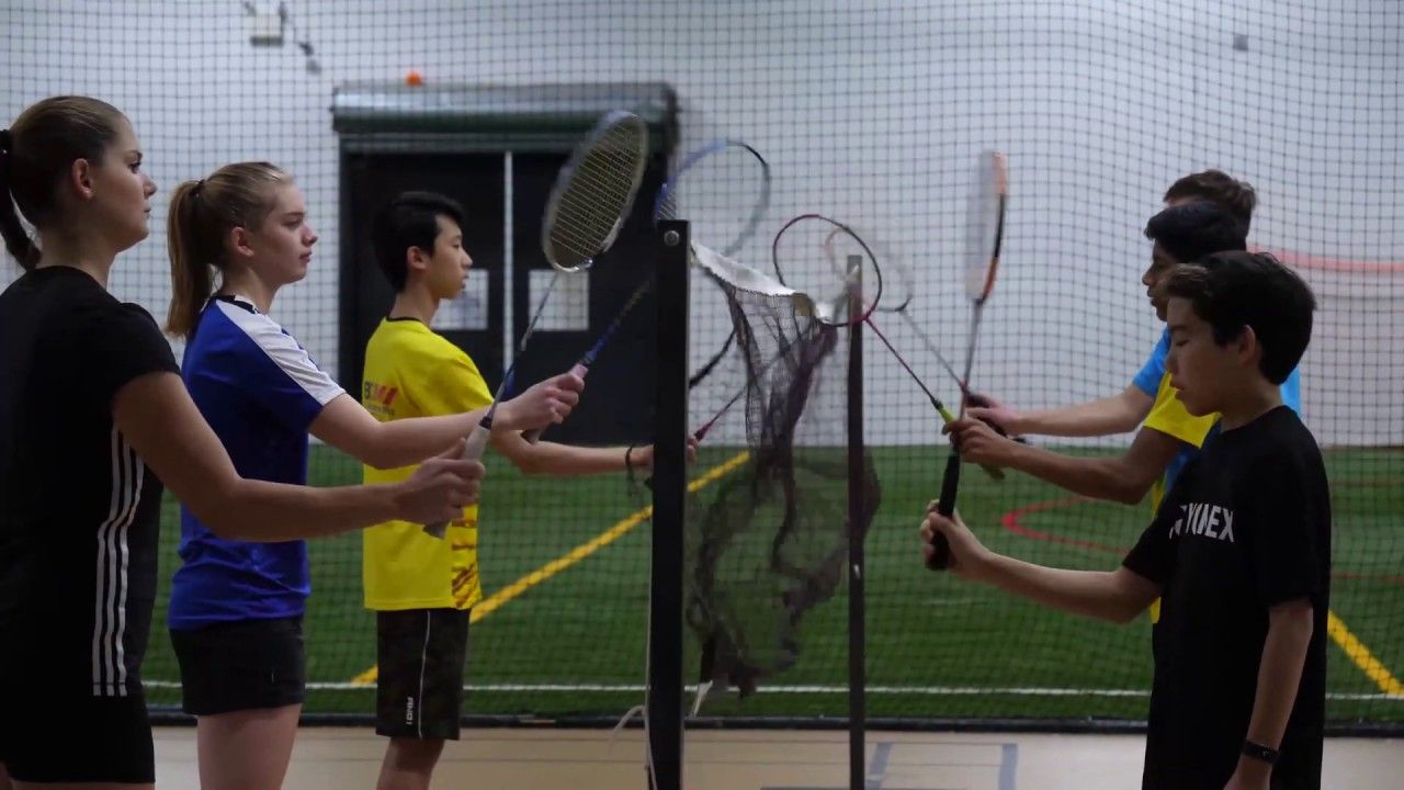 Badminton Drill To Practice The Forehand And Backhand Grips Coach Andy Badminton Tips Badminton Badminton Drills
