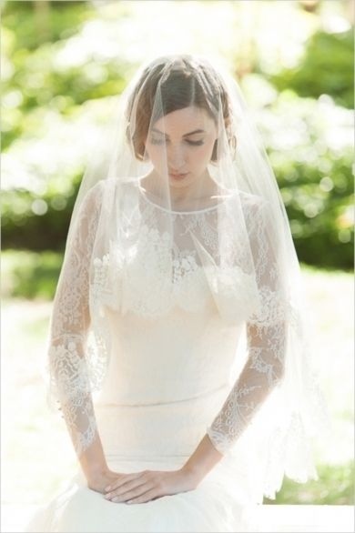 Veil Inspiration: 2014 Sareh Nouri Bridal Collection   Photography by Millie B on Wedding Chicks via Lover.ly