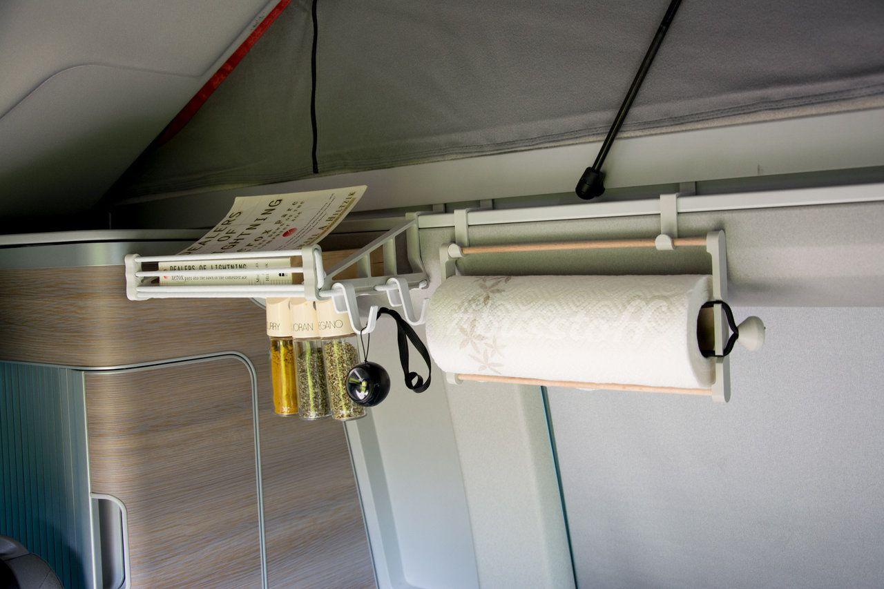 Amazon küchenrollenhalter ~ Busstoff regal und küchenrollenhalter im t ocean vw bus