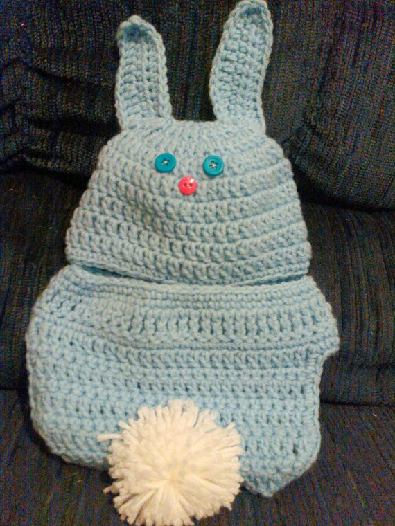 2 Piece Bunny Suit by AmysCraftswithLove on Etsy