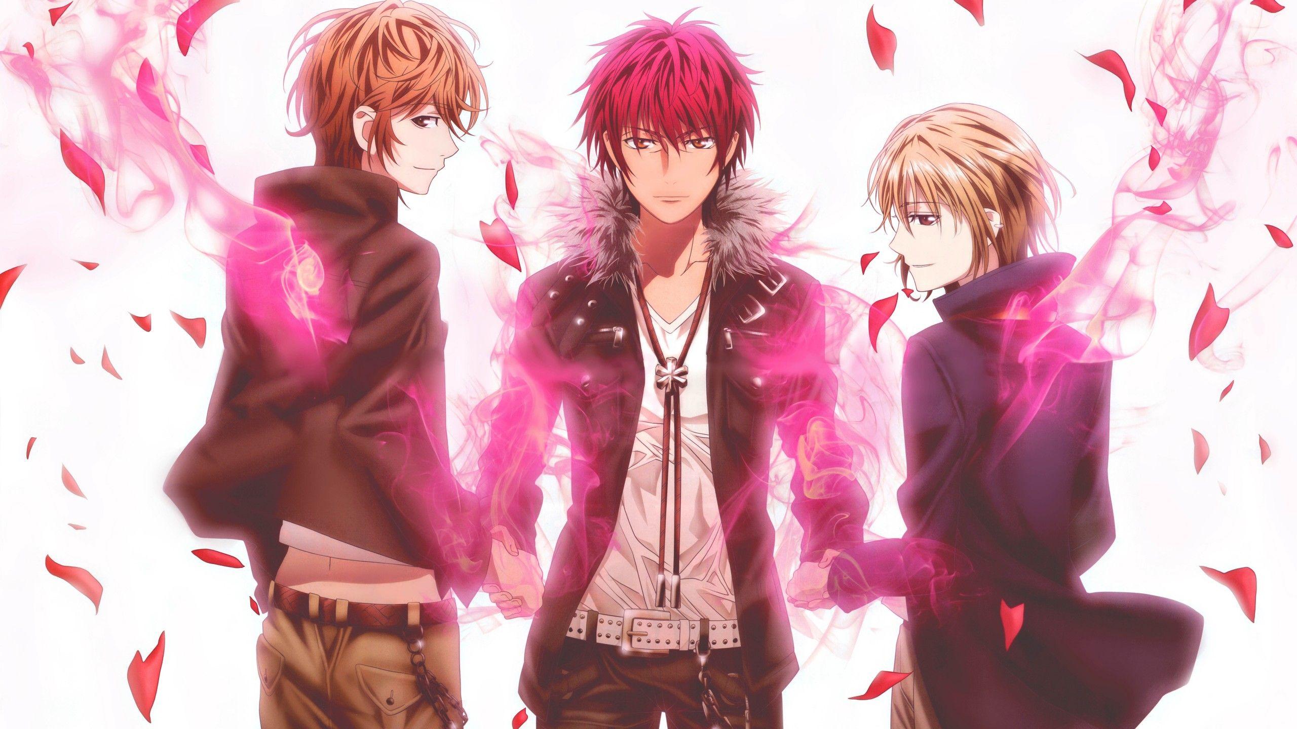 Anime 2560x1440 Anime Anime Boys K Project Suoh Mikoto Kusanagi Izumo Totsuka Tatara K Project Anime K Project Anime