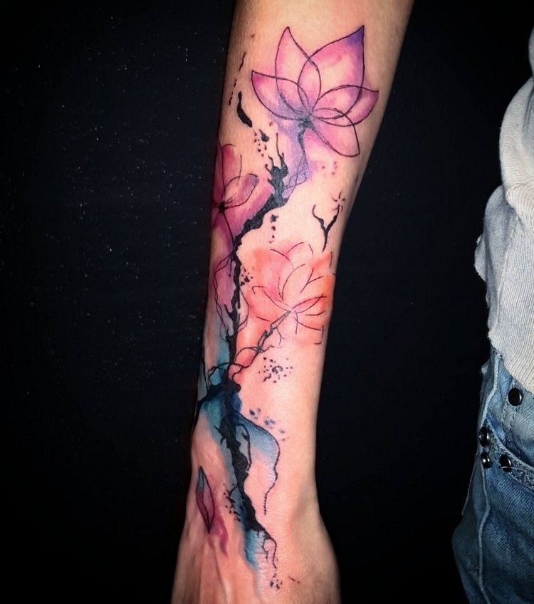 Photo of Tatouage aquarelle – Belles idées de tatouage et conseils pour la tendance aquarelle