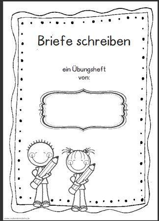 uebungsheft briefe schreiben zaubereinmaleins designblog deutsch brief schreiben. Black Bedroom Furniture Sets. Home Design Ideas