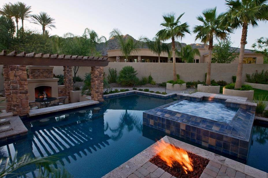 Swim-up Bars and Swimming Pools in Phoenix AZ - Photo Gallery ...