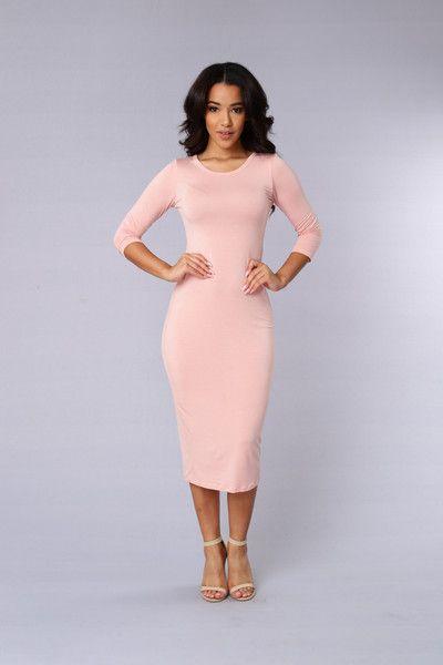 Spontaneous Dress - Dusty Pink