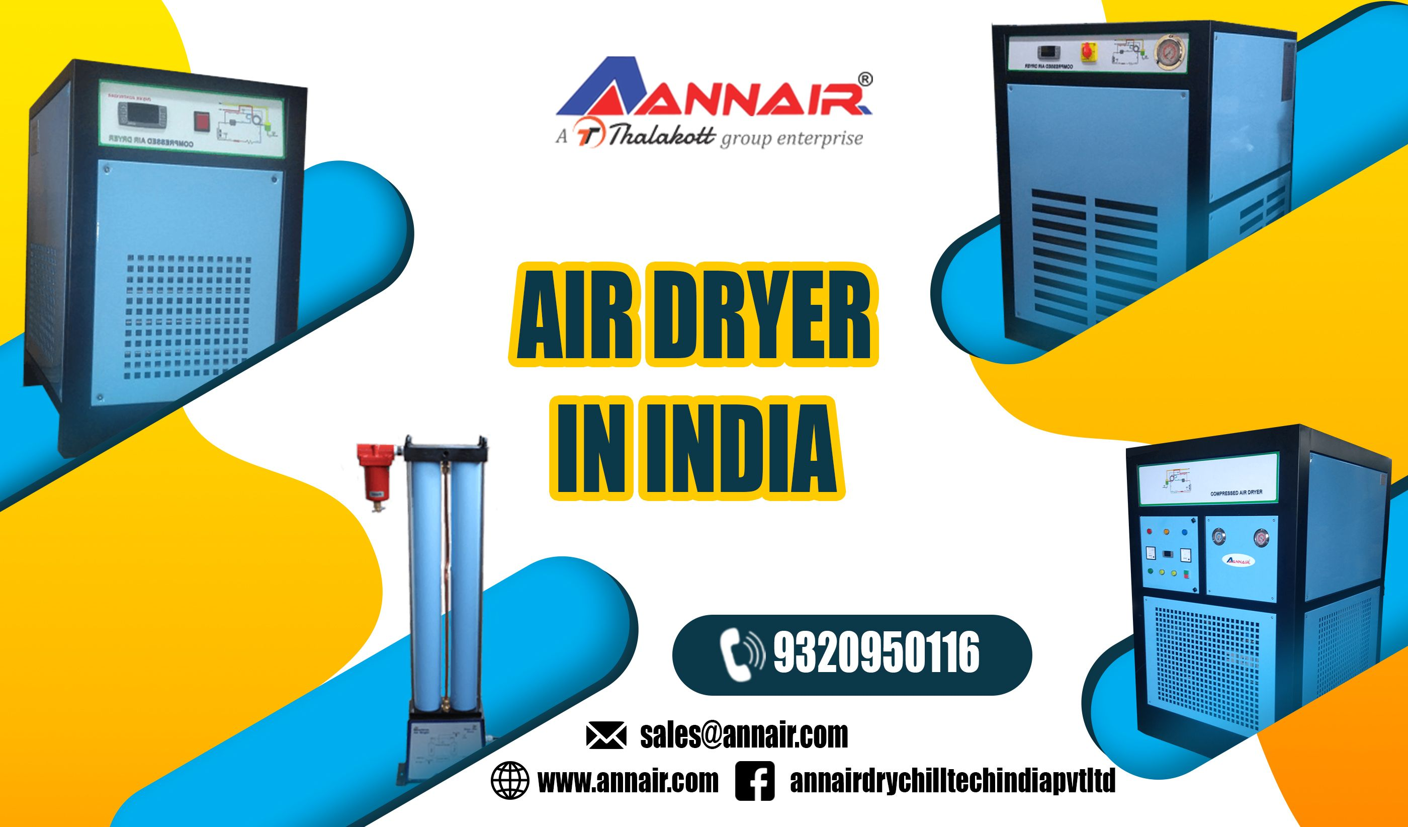 Air Dryer Manufacturers Suppliers & Exporters in India. We
