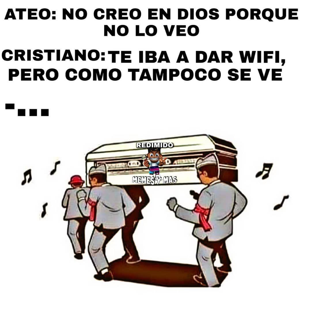 1 948 Likes 24 Comments Redimido Memes Y Mas Redimido Memes Y Mas On Instagram Ceroreligiosidad Memes Cristianos Chistes Cristianos Memes Divertidos