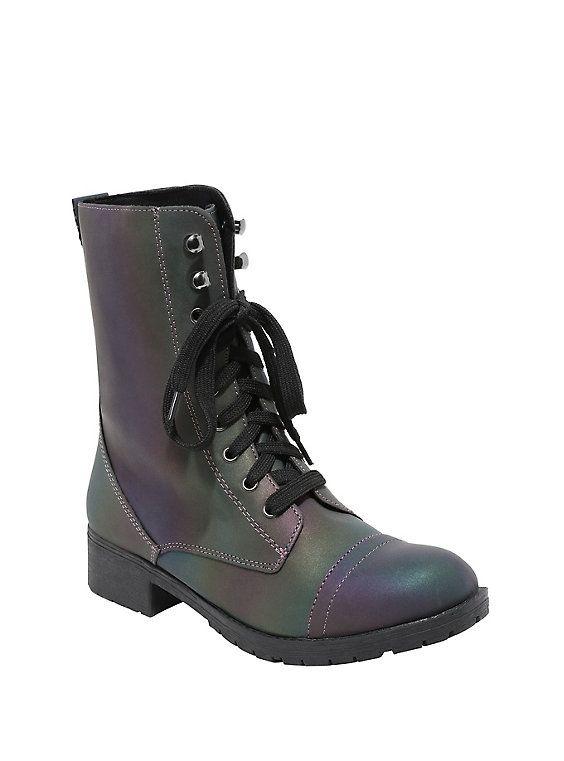 Zapatos de Plataforma Plana para Dama Señora y Cordones Estilo Creeper Gótico Punk - Sintético, ES 36, Piel Sintética Blanca Monocolor
