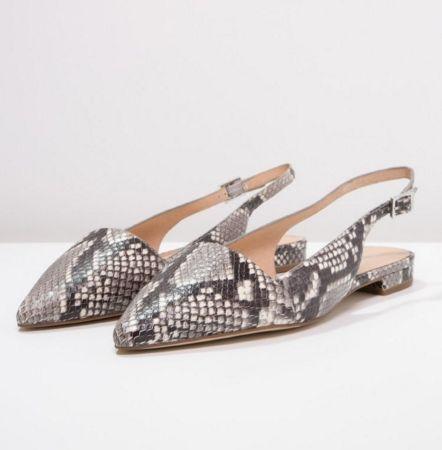 Michael Michael Kors Claudia Baleriny Wezowe Odkryta Pieta Natural Fashyou Pl Michael Kors Shoes Kitten Heels