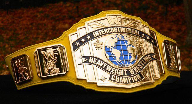 WWF IC Heavyweight Wrestling Championship (Yellow strap version)