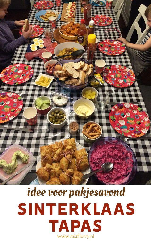Sinterklaas Tapas Nieuwe Pakjesavondtraditie Sinterklaas