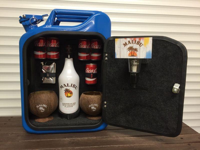 Jerry Can Mini Bar Jack Daniels Grey Goose Vodka Whiskey Camping ...