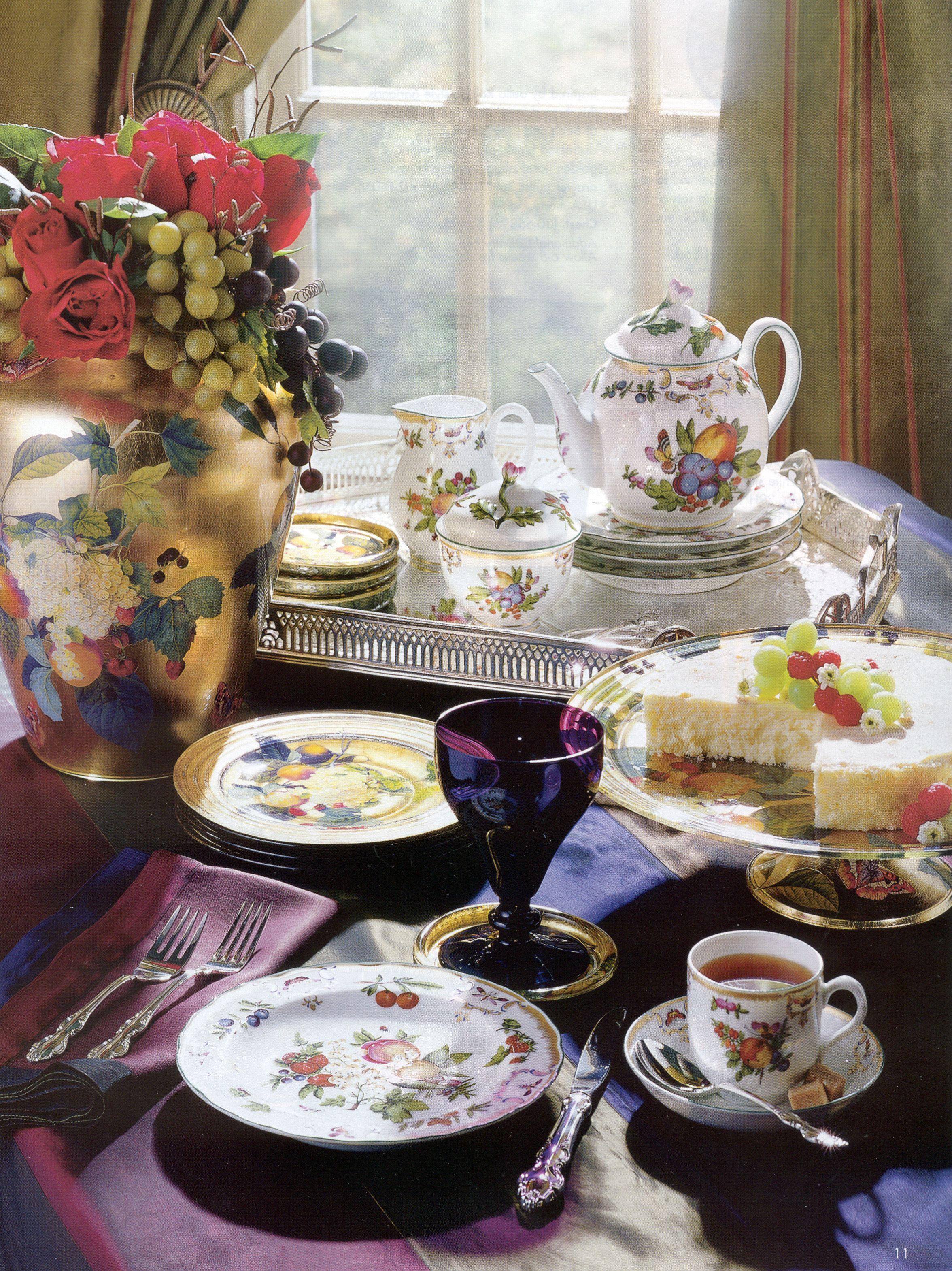 Duke of Gloucester table setting | For the Table II | Pinterest ...