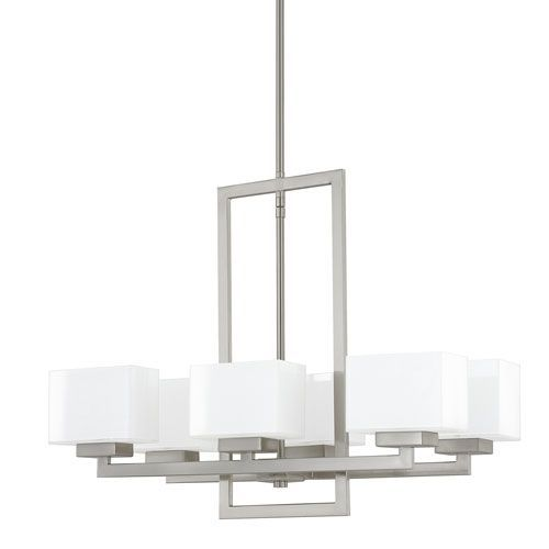 capital lighting fixture company tahoe brushed nickel six-light