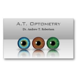 Professional eyeballs optometry business cards high quality professional eyeballs optometry business cards colourmoves