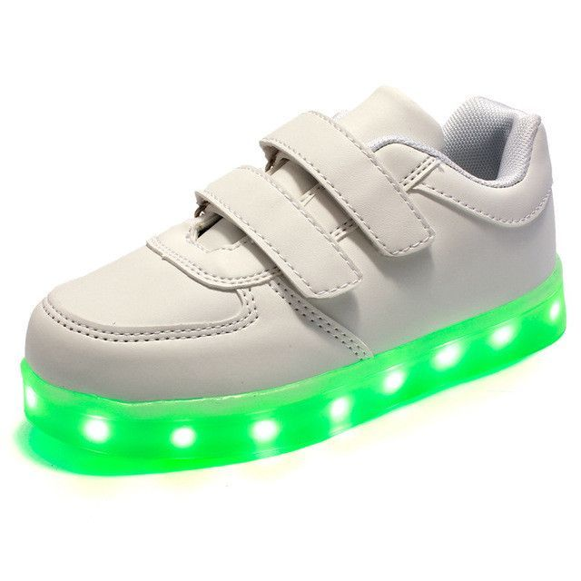 2017 Baby Girls Boys Led Light Sneakers Colorful Usb Charging For Kids Flashing Casual Flat Students Children Luminous Shoes Mother & Kids
