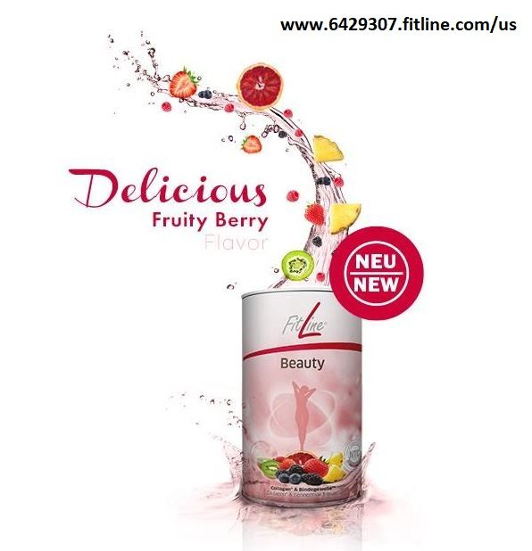 The NEW FitLine Beauty full of Collagen and fruit extracts ...