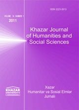 Khazar journal of humanities and Social Sciences | Teaching