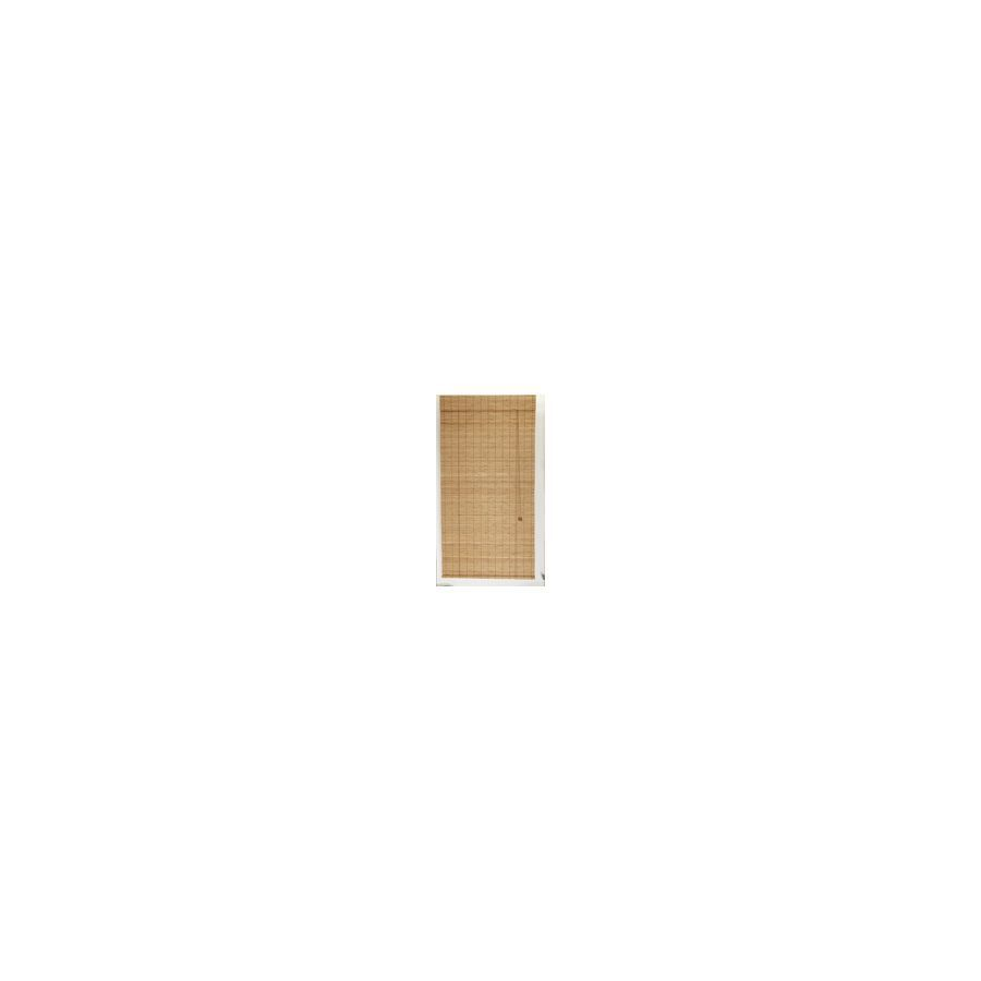 Style selections spice light filtering bamboo rollup shade common