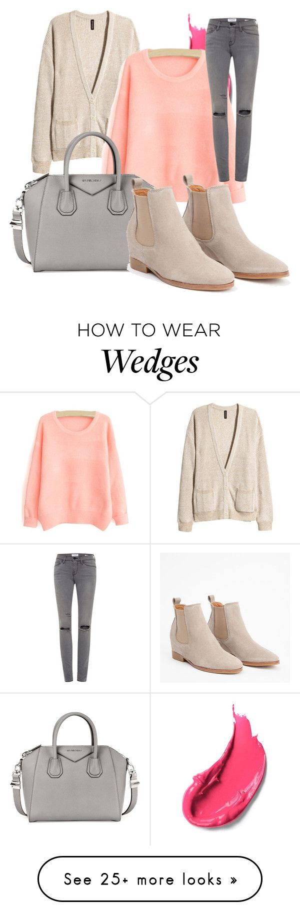 """""""Untitled #282"""" by samyalltheway on Polyvore featuring H&M, Givenchy and Frame Denim"""