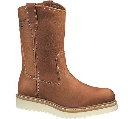 Mens Wolverine Wedge Wellington - Brown - FREE Shipping