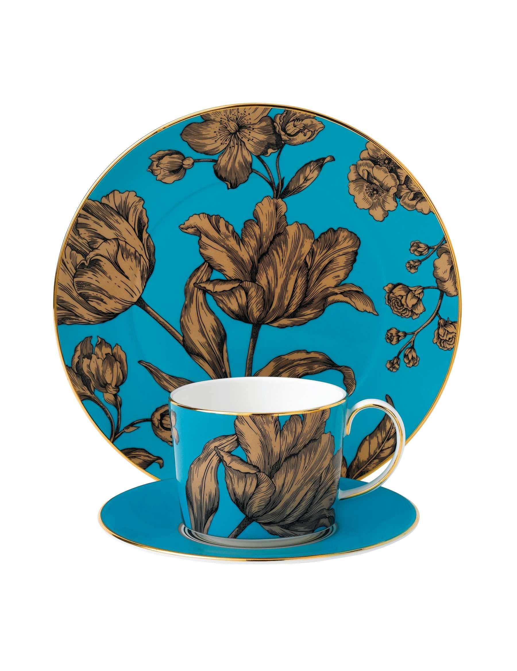 David Jones - Wedgwood Wedgwood Vibrance Turquoise 3 Piece Set  sc 1 st  Pinterest & David Jones - Wedgwood Wedgwood Vibrance Turquoise 3 Piece Set   Tea ...