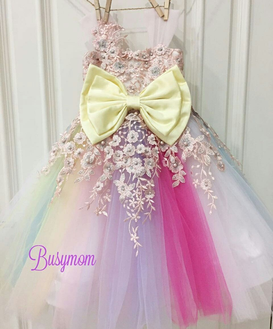 6e40f0bc276c0 Unicorn dress Unicorn Dress Girls, Unicorn Doll, Baby Girl Birthday, Unicorn  Birthday,