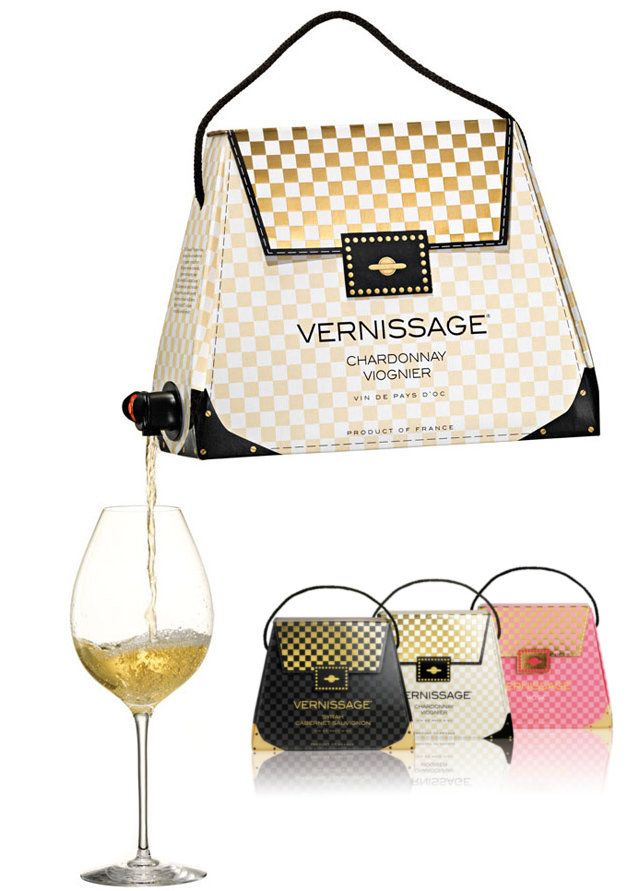 The Wine Handbag Drinking Just Got A Lot More Stylish See At Inventorspot
