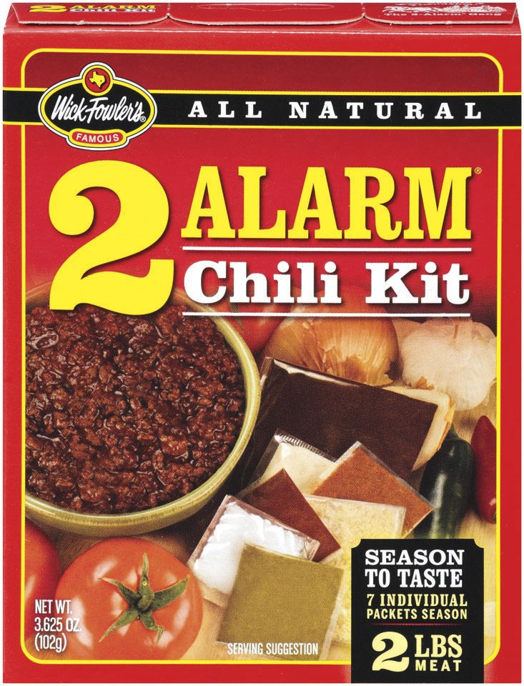The Best Darn Chili You Can Buy Wick Fowlers Env 2 Alarm Chili