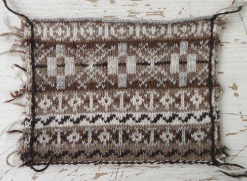 swatch | Tea cosy, Shetland, Knitting patterns