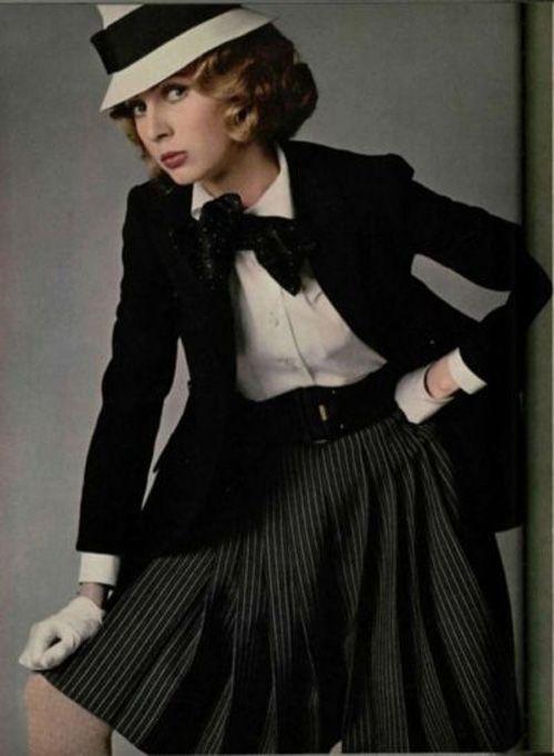 Flashback: Uma Thurman en su época de modelo | All black