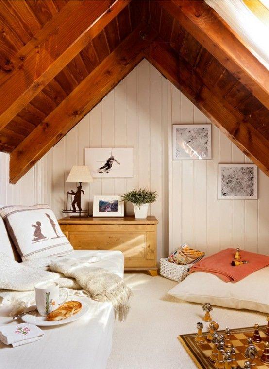 Útulné bývanie v horskej chate | Vidiecky štýl