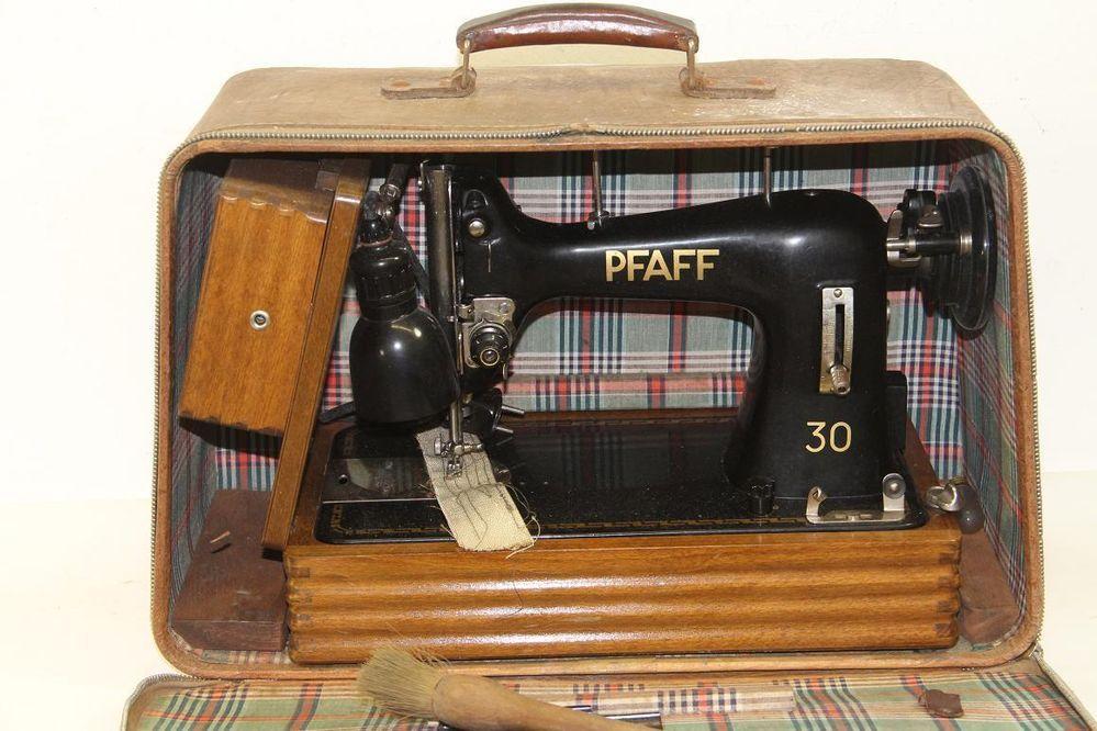 N Hmaschine Pfaff 30 Reisen Hmaschine Mit Koffer 30 50er
