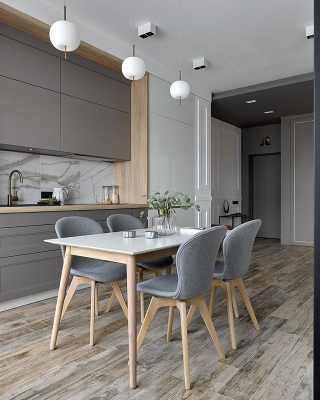 Ein Esszimmer zum Verlieben - @antoninasinchugova hat mit unseren Adelaide Stühlen und Milano Esstisch ein kleine Essoase geschaffen. #boconcept #interiordesign #design #dining #homedecor #living #chambreparentale