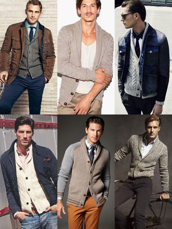 Men's Wardrobe Basics with The Shawl Collar Cardigan