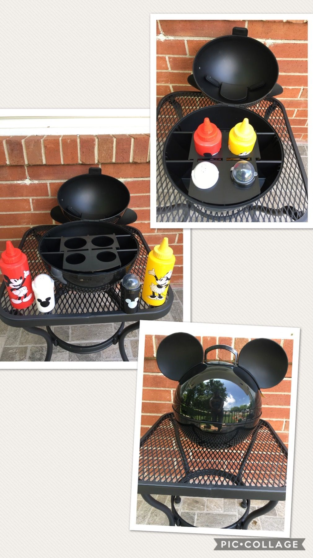Mickey mouse condiment caddy  Disney kitchen decor, Mickey mouse