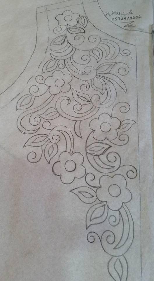 Pin de Nahida Benhammou en Broderie à la main | Pinterest | Bordado ...