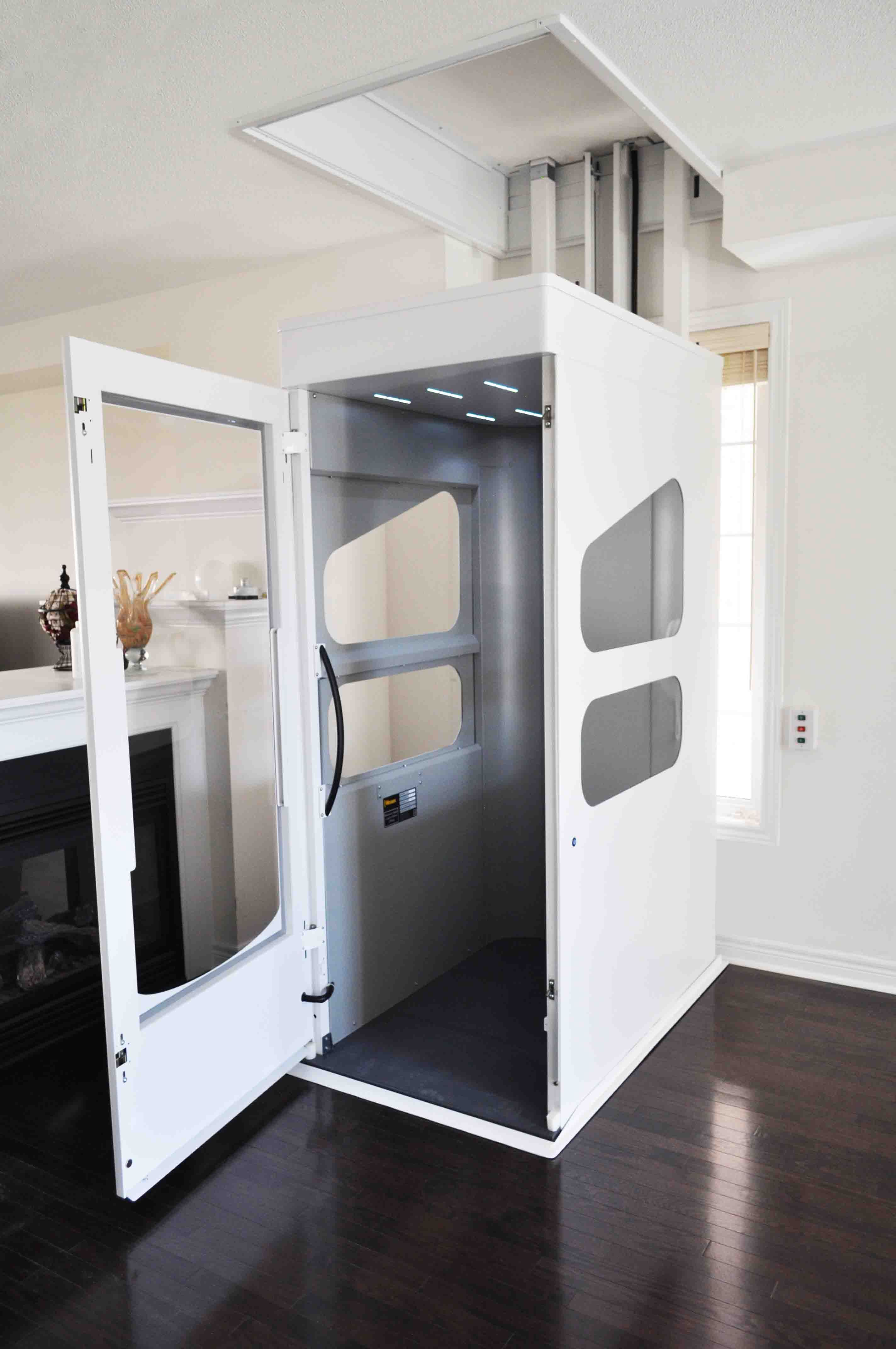 VE Enclosed Home Elevator The ThroughFloor Range in