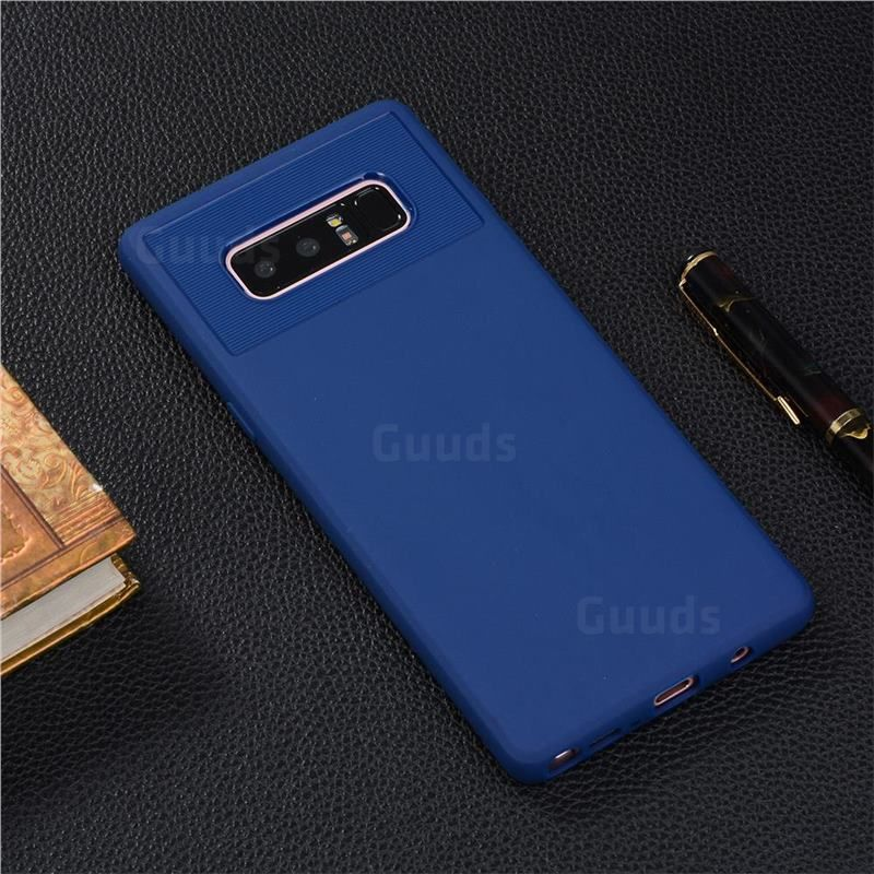 Carapace Soft Back Phone Cover for Samsung Galaxy Note 8 - Blue #guuds #samsung #galaxy #samsungnote8 #galaxynote8 #phone #case #cover #galaxynote8case #galaxynote8cover #samsungnote8case #samsungnote8cover #Carapace #softcover #backcover #backcase