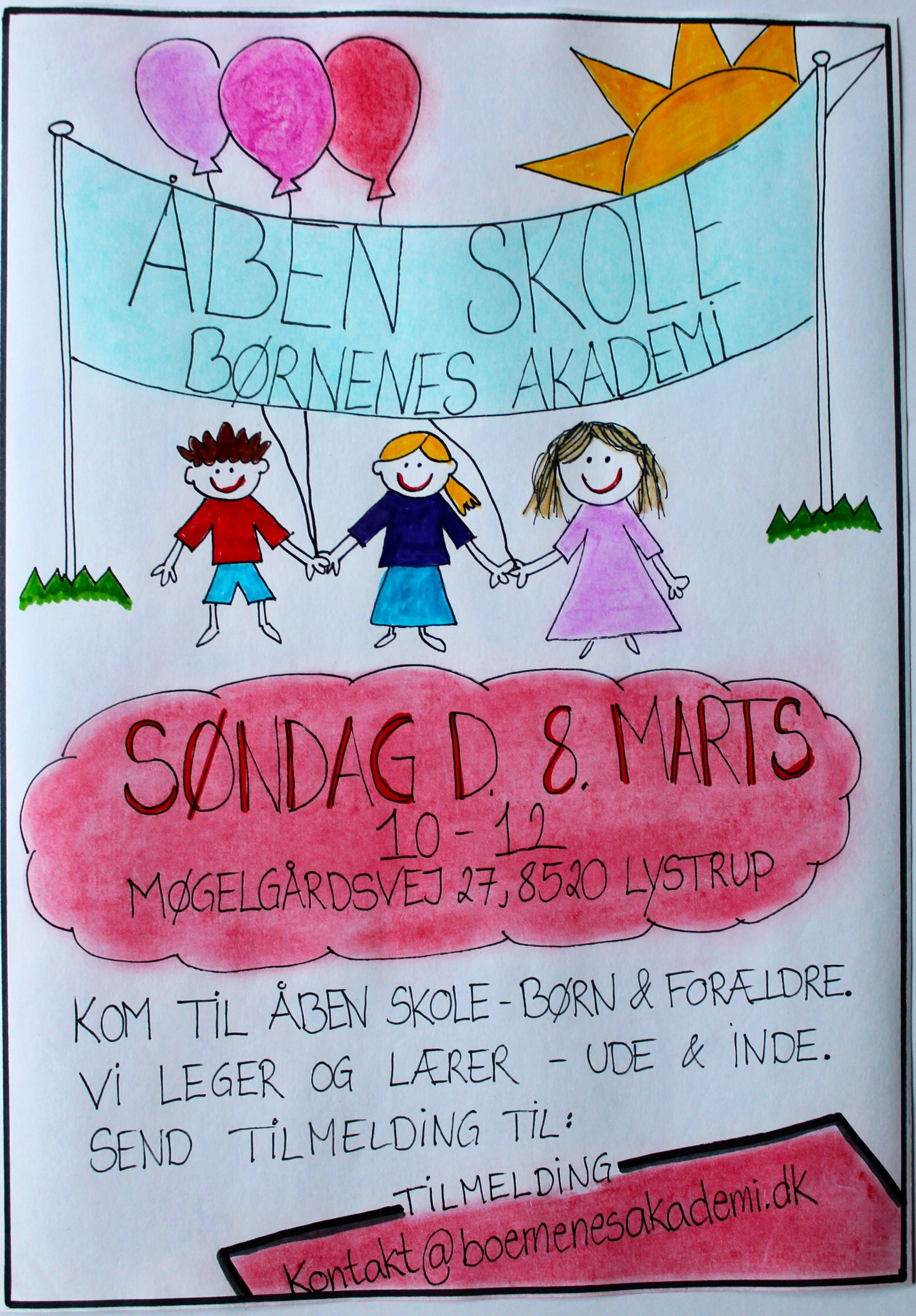 Åben Skole-invitation